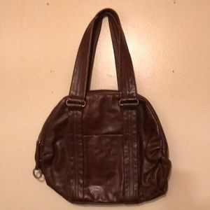 Latico Large Brown Leather Bag